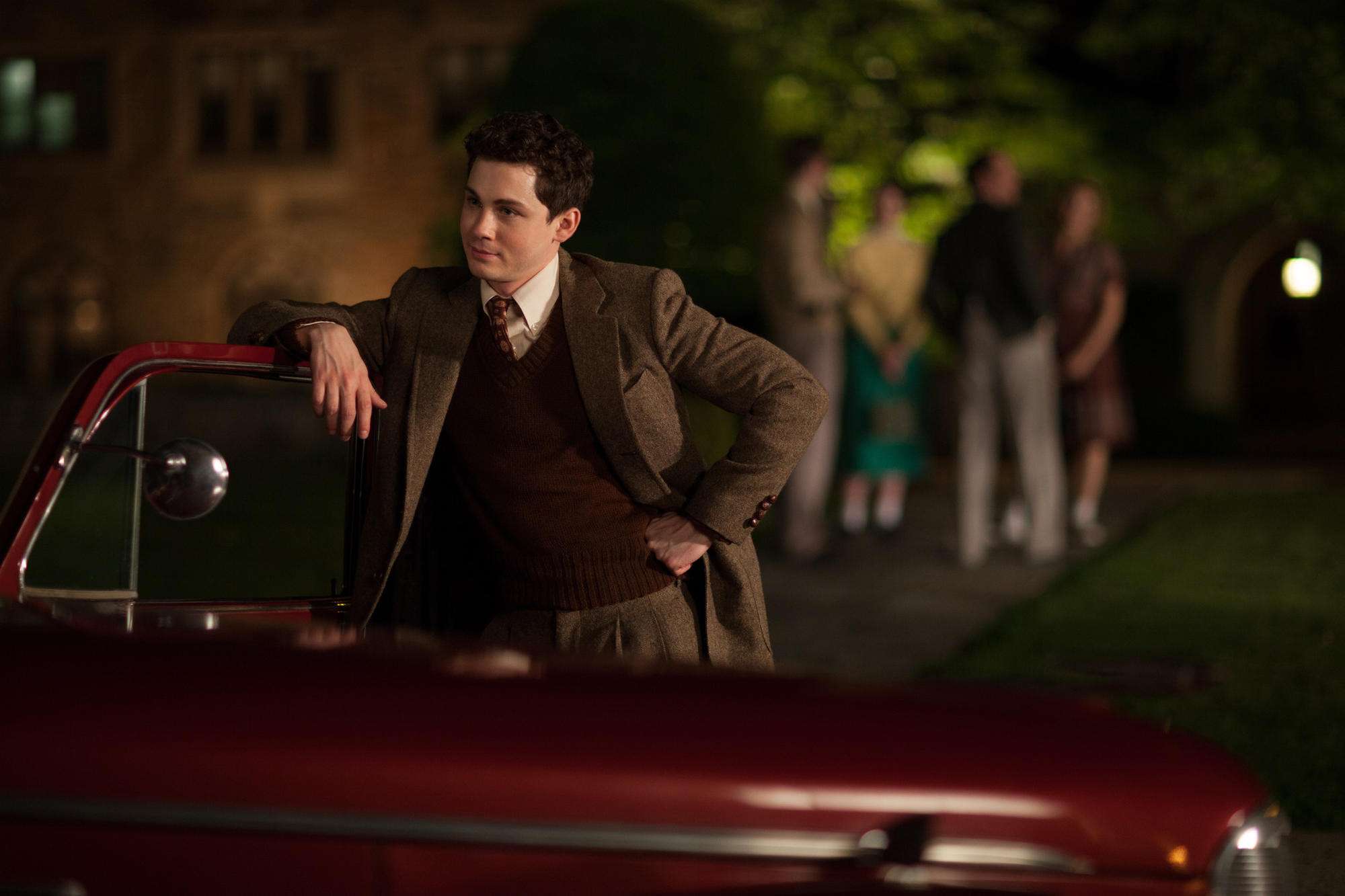Logan Lerman in 'Indignation.'