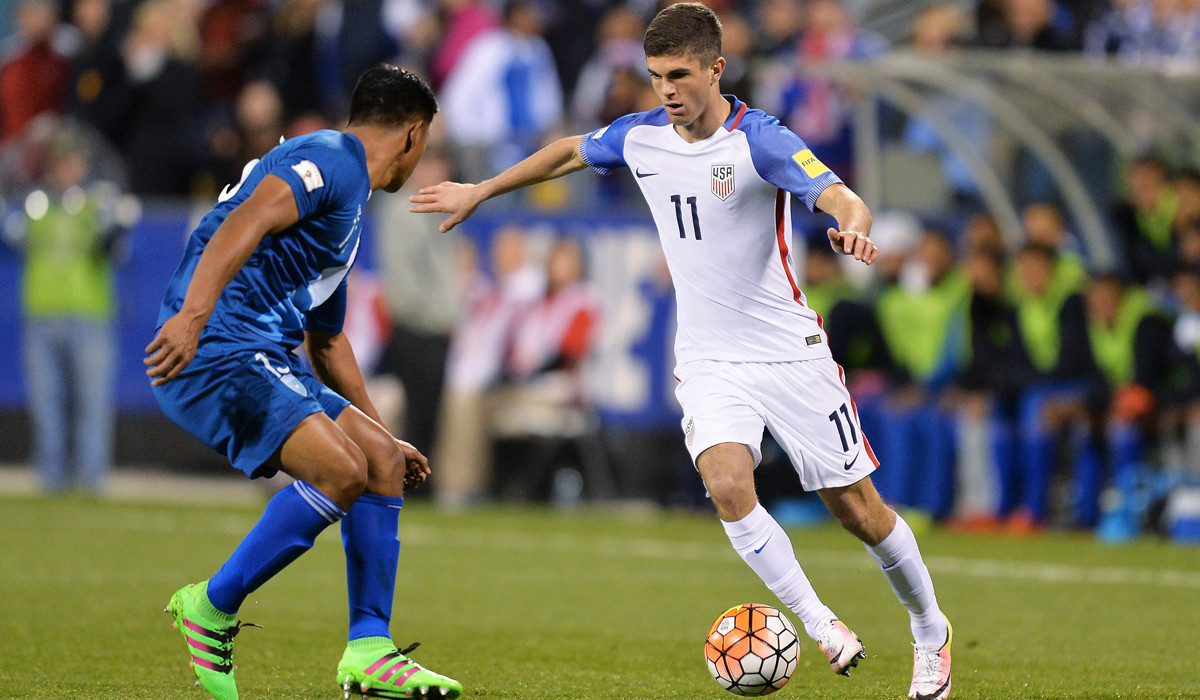 U.S. soccer phenom Christian Pulisic is pumping up fans in ...