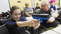 Citizens Police Academy participants learn about use of force