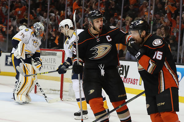 Ducks Prefer To Look Ahead In Playoff Series With Predators, Not Back At Last Year