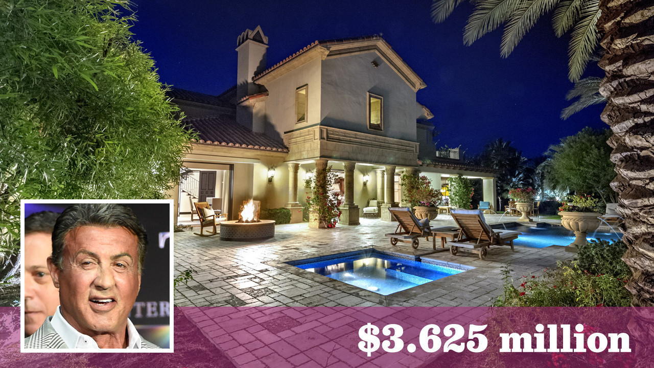 Sylvester Stallone Deems His Desert Home Expendable At A