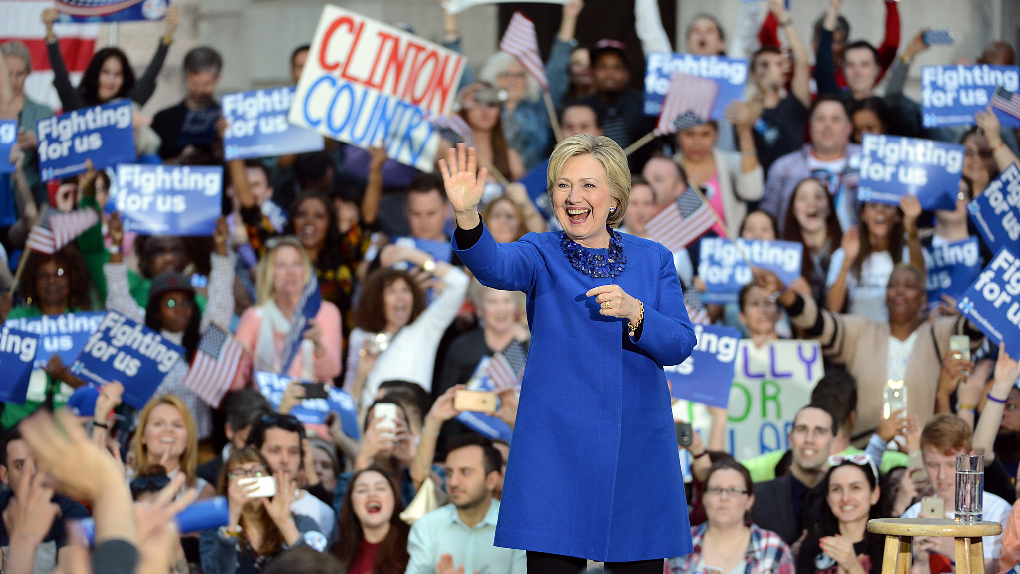 VIDEO: Hillary Clinton rally in Philadelphia - The Morning ...