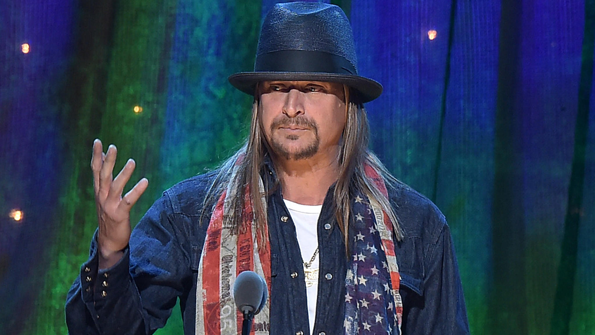 Kid Rock's Possible Senate Run Is No Joke to Elizabeth Warren