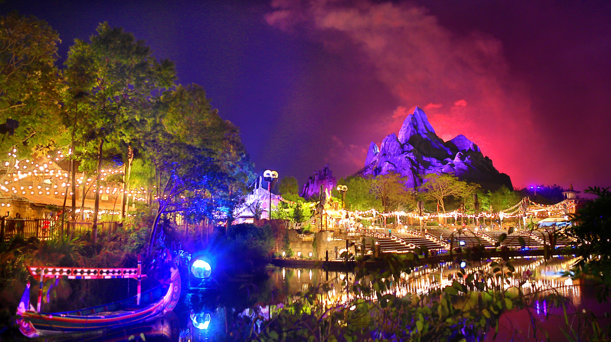 This Is What Disneys Animal Kingdom Will Look Like At Night