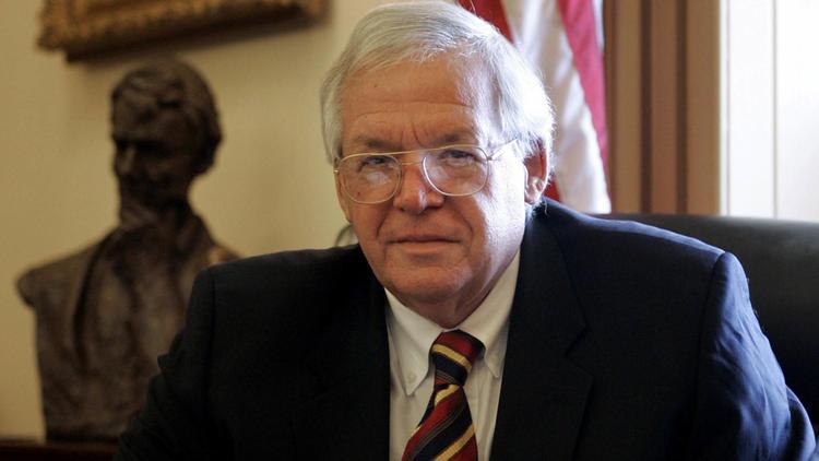Former U.S. House Speaker Dennis Hastert
