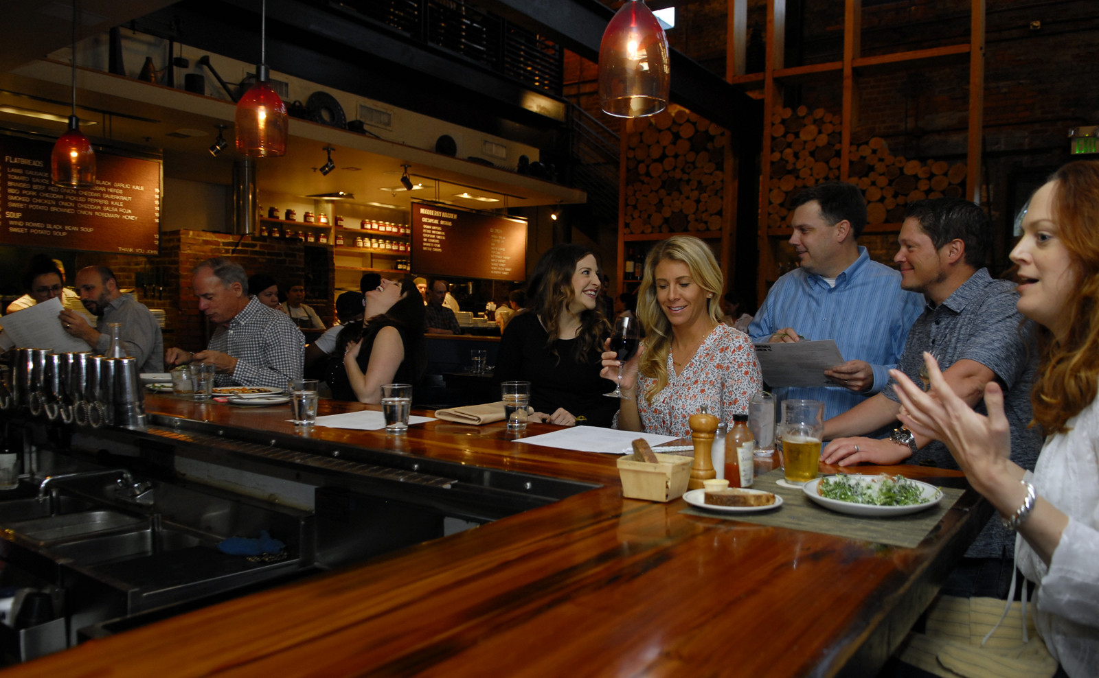 woodberry kitchens bar is worthy of praise too baltimore sun - Woodberry Kitchen