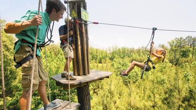Zip lines coming to Cook County forest preserve — but Preckwinkle won't be riding