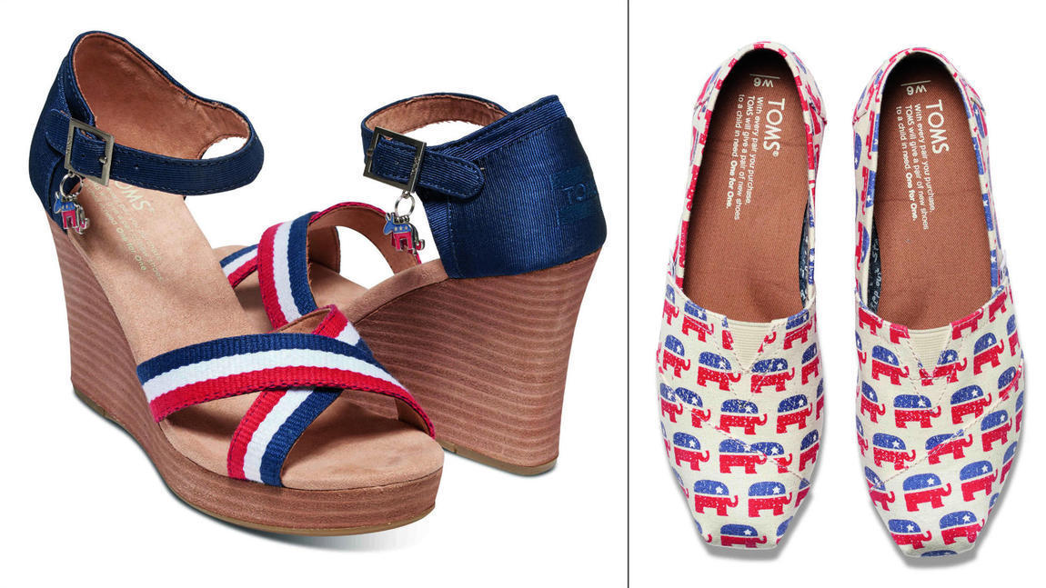 Toms Shoes' new election collection lets you vote with ...
