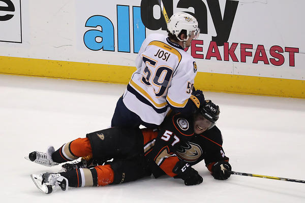 It's Same Old Story As Ducks Fall To Predators, 2-1, For Fourth Straight Game 7 Loss At Home