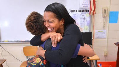 National Teacher Of The Year Is 'Epitome Of American Dream'