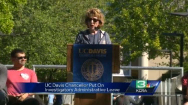 UC Davis chancellor put on investigatory administrative leave