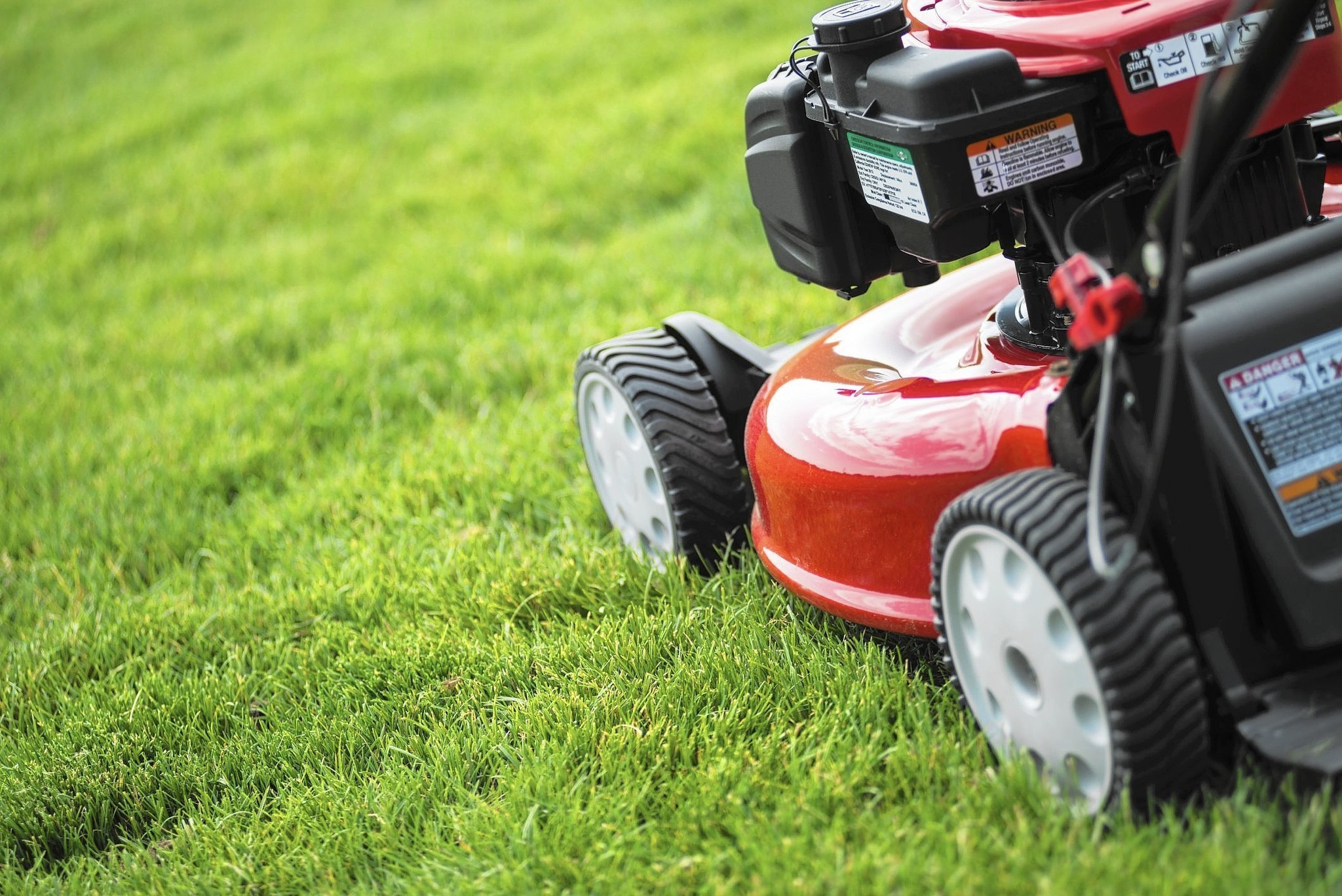 New Lawn Mowers Are Easier To Use  Quieter
