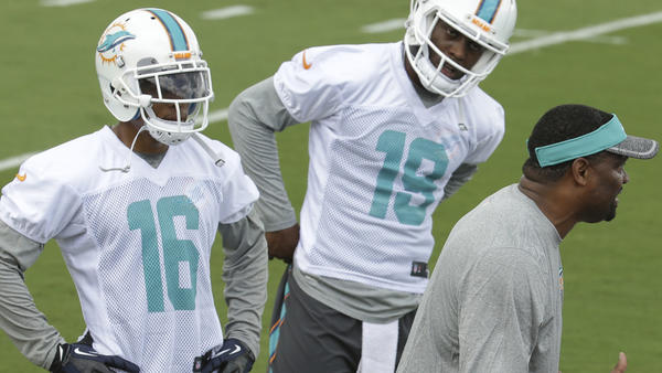 Dolphins release four players ahead of NFL draft
