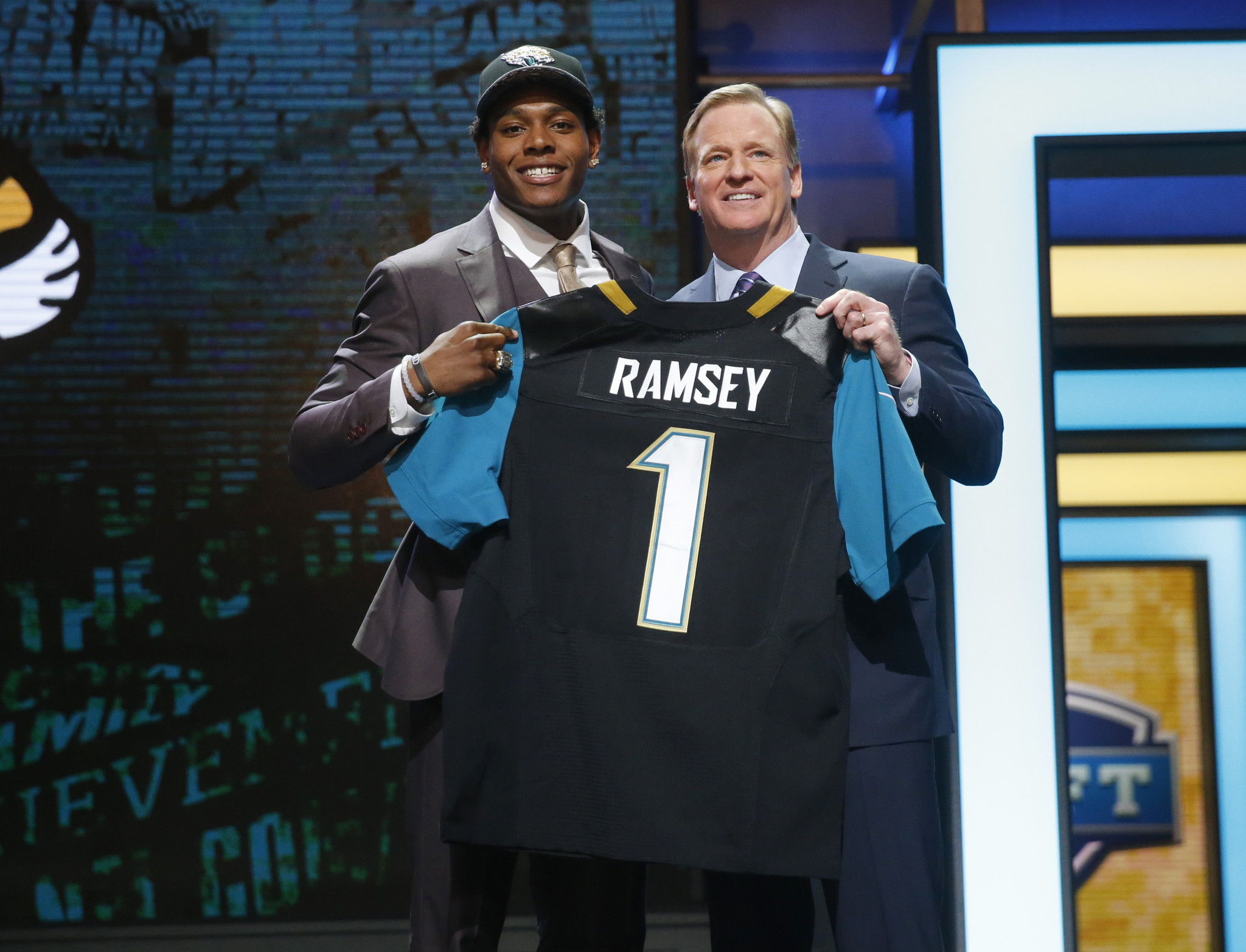 Jaguars select CB Jalen Ramsey with fifth pick in NFL draft LA Times
