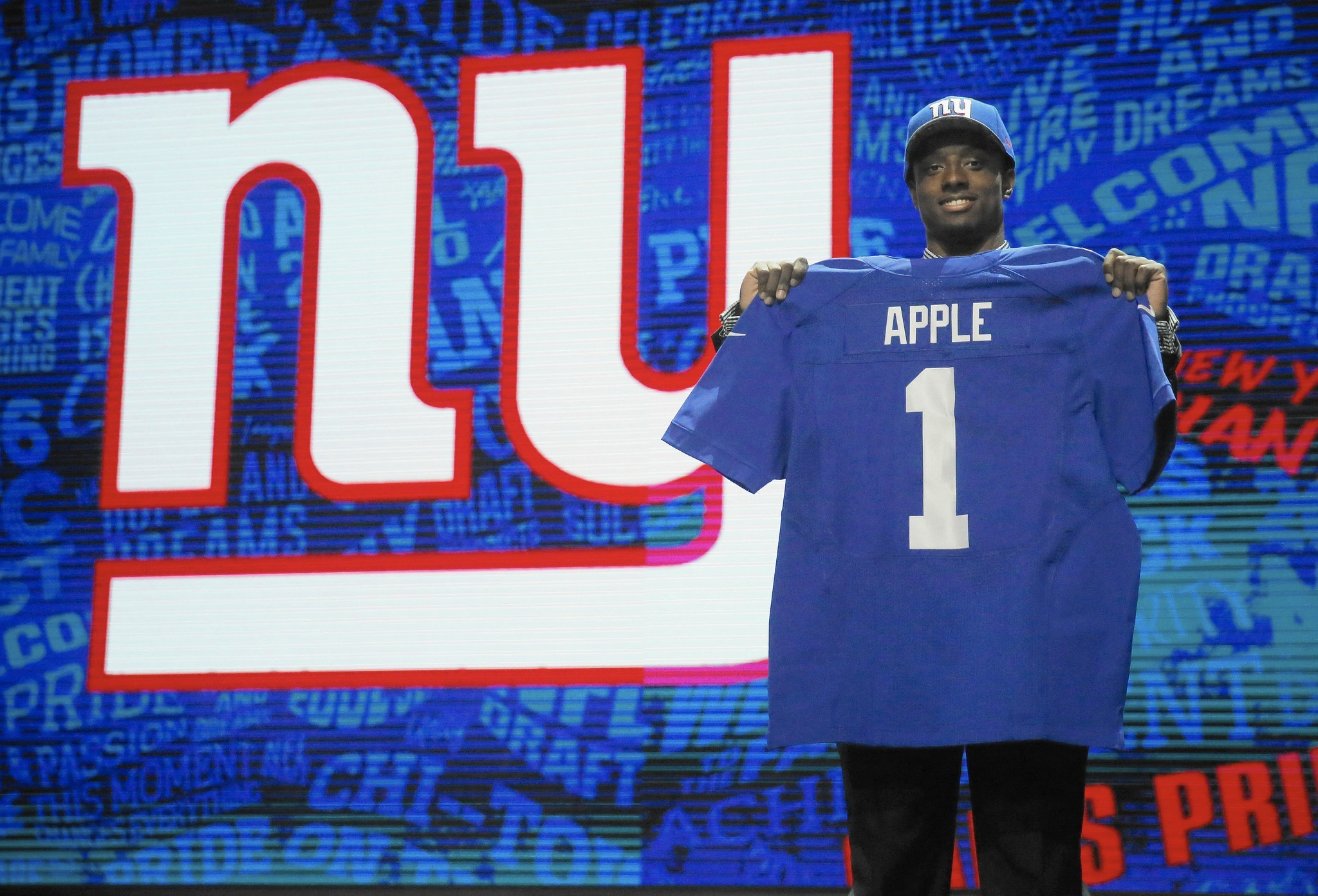 giants draft ohio state 39 s apple with 10th overall pick baltimore sun. Black Bedroom Furniture Sets. Home Design Ideas
