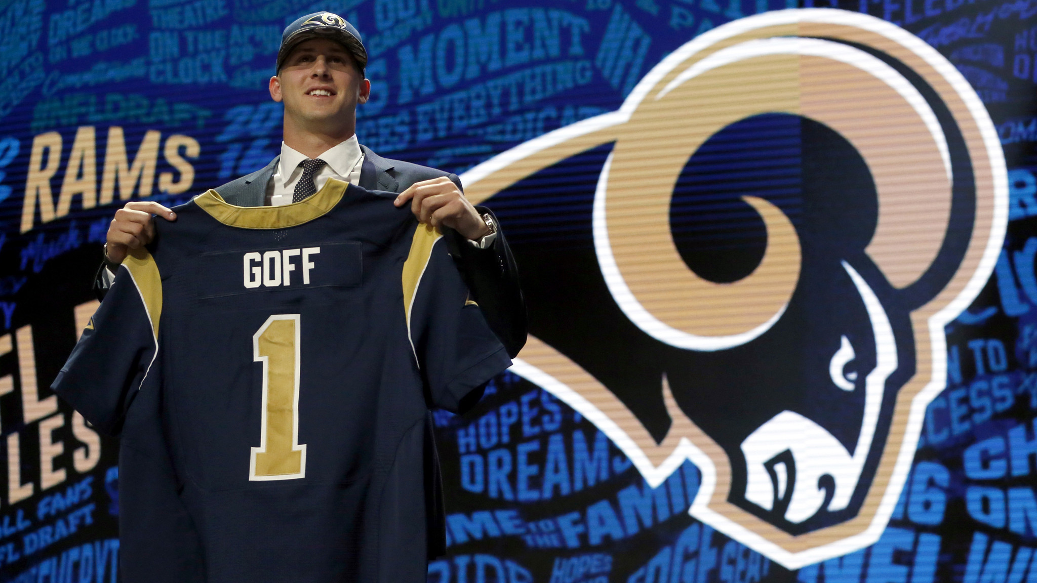 Image result for jared goff rams