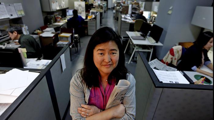 Gwen Muranaka, English editor in chief of Rafu Shimpo.