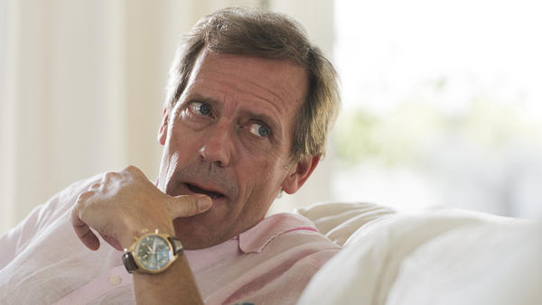 """Hugh Laurie in """"The Night Manager."""" (Des Willie / AMC)"""