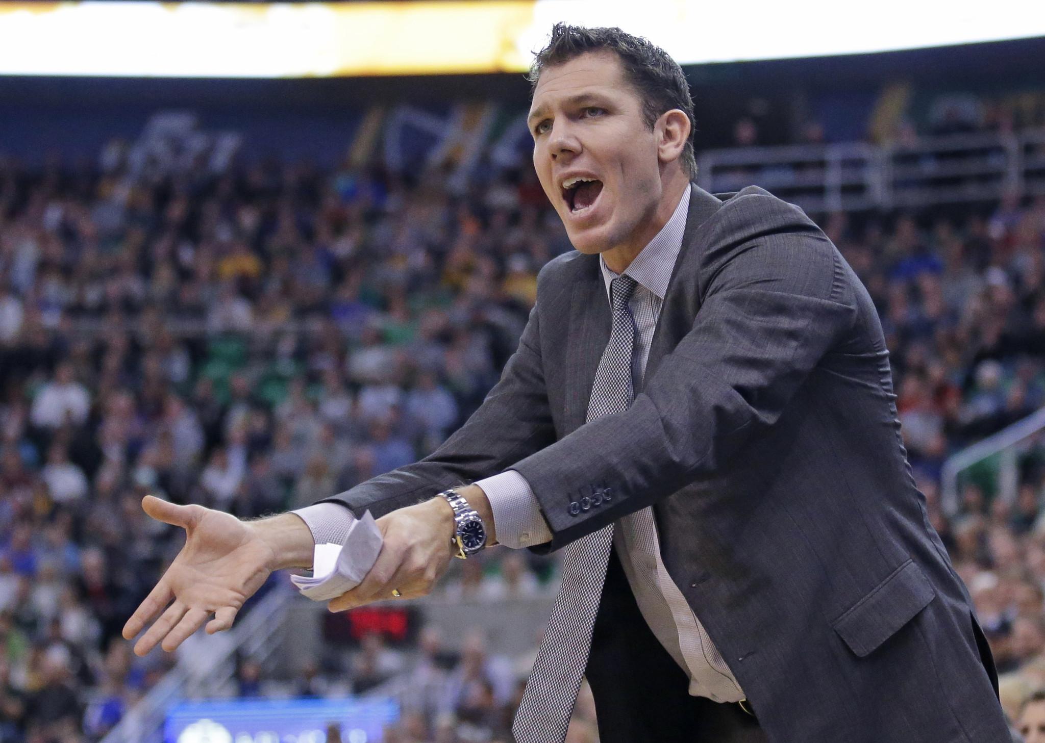 Lakers hire Luke Walton as coach, hoping he can be their ...