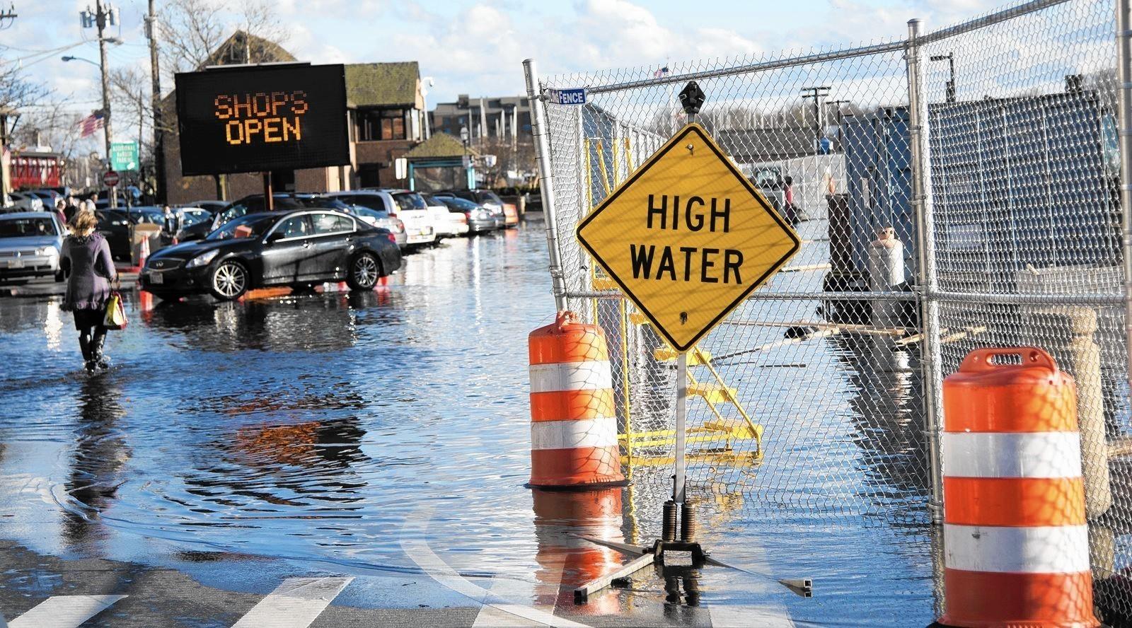 Annapolis seeks to fight sea level rise