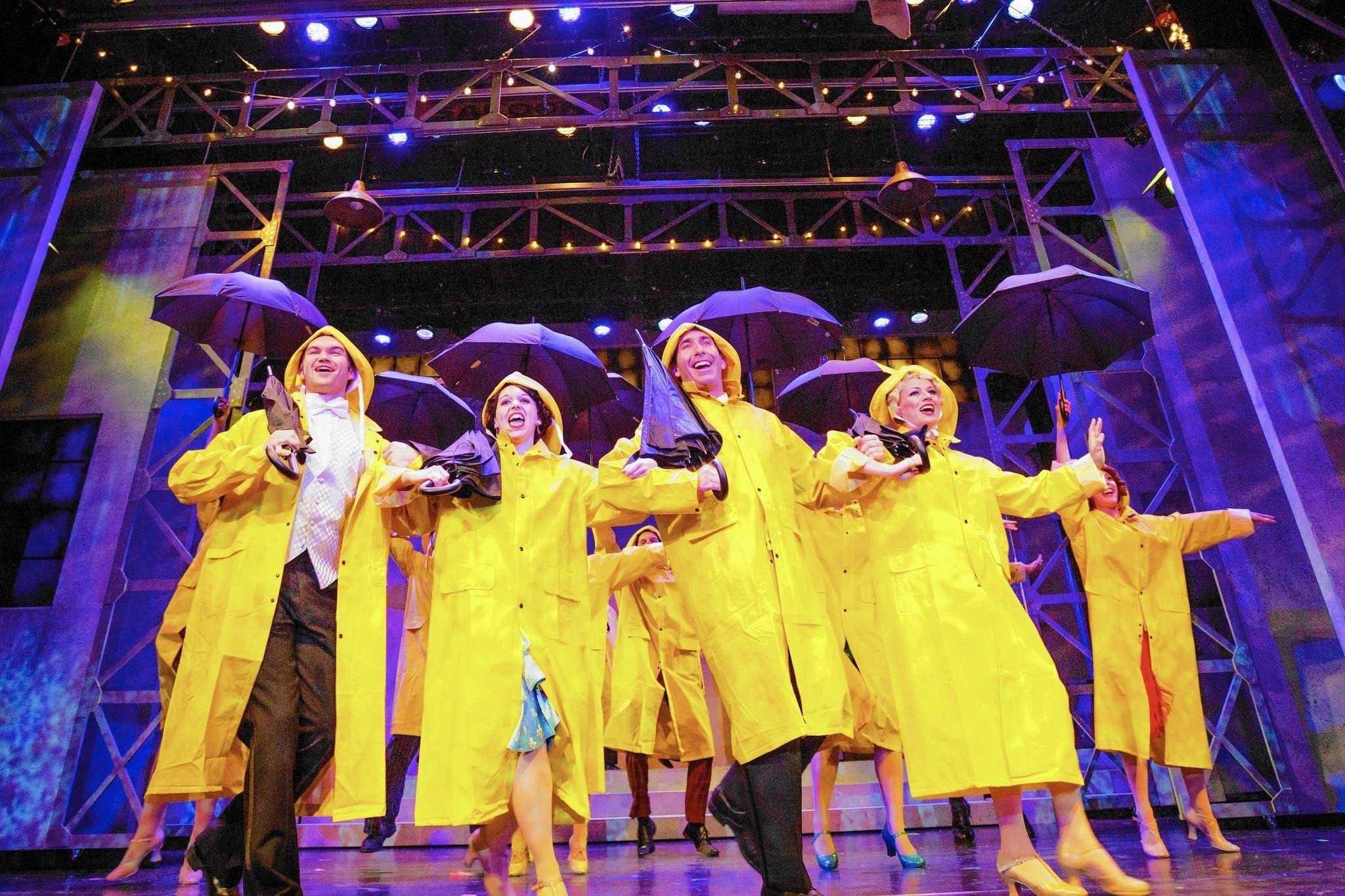 review garden theatre u0027s u0027singin u0027 in the rain u0027 will make you happy