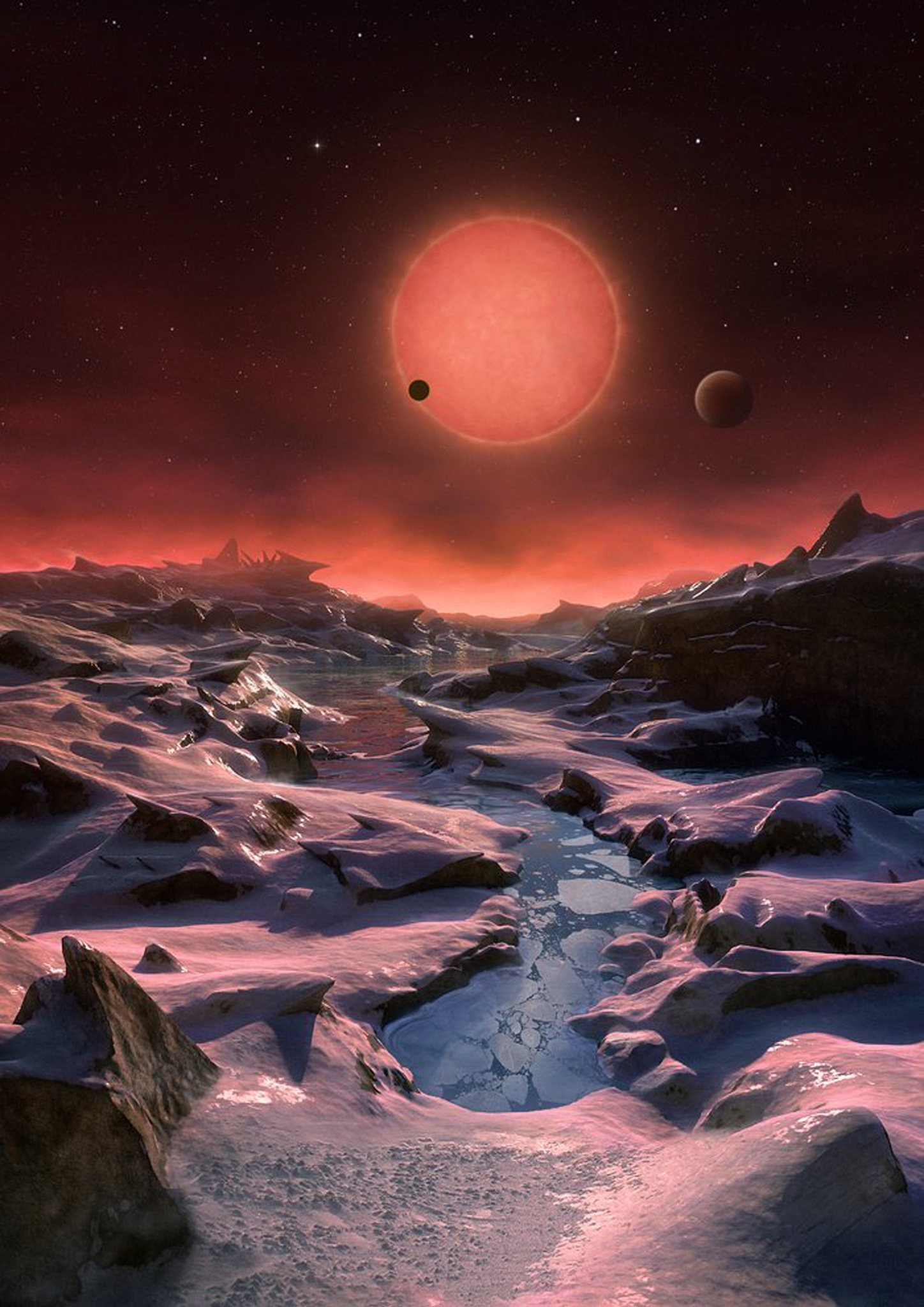 3 planets orbiting dwarf star prime spots to search for life