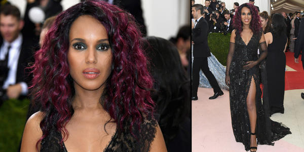 Kerry Washington at the Met Gala. (Larry Busacca / Getty Images)