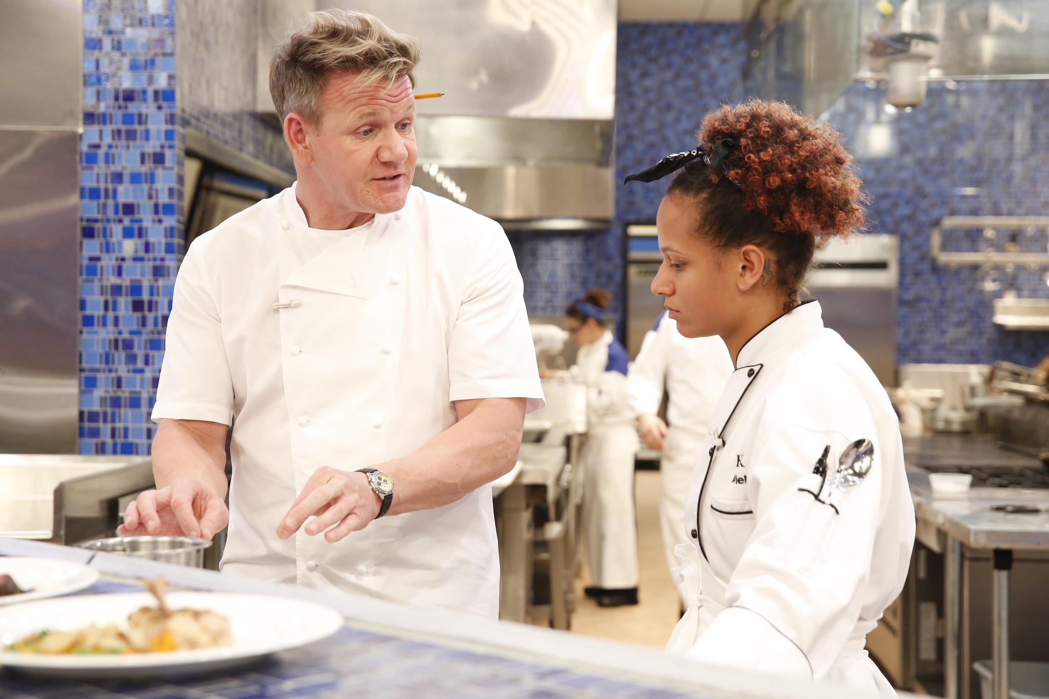 Woman With Local Ties Wins Hell S Kitchen The Morning Call