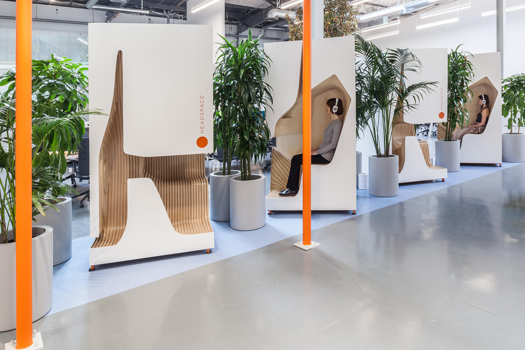 A look inside Headspace's new office.