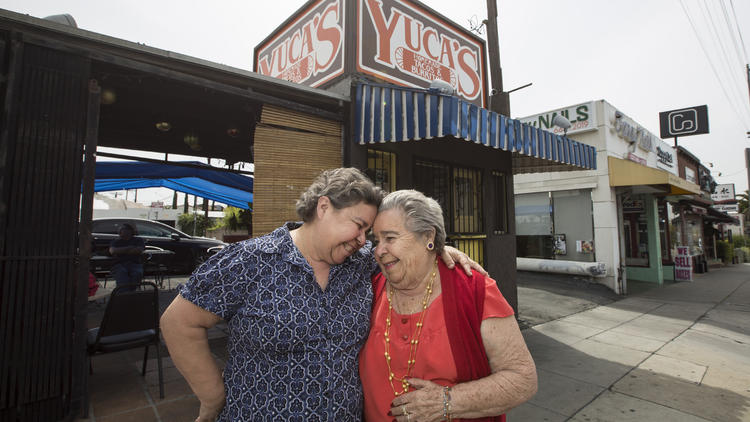 The mother-daughter team behind Yuca's tacos