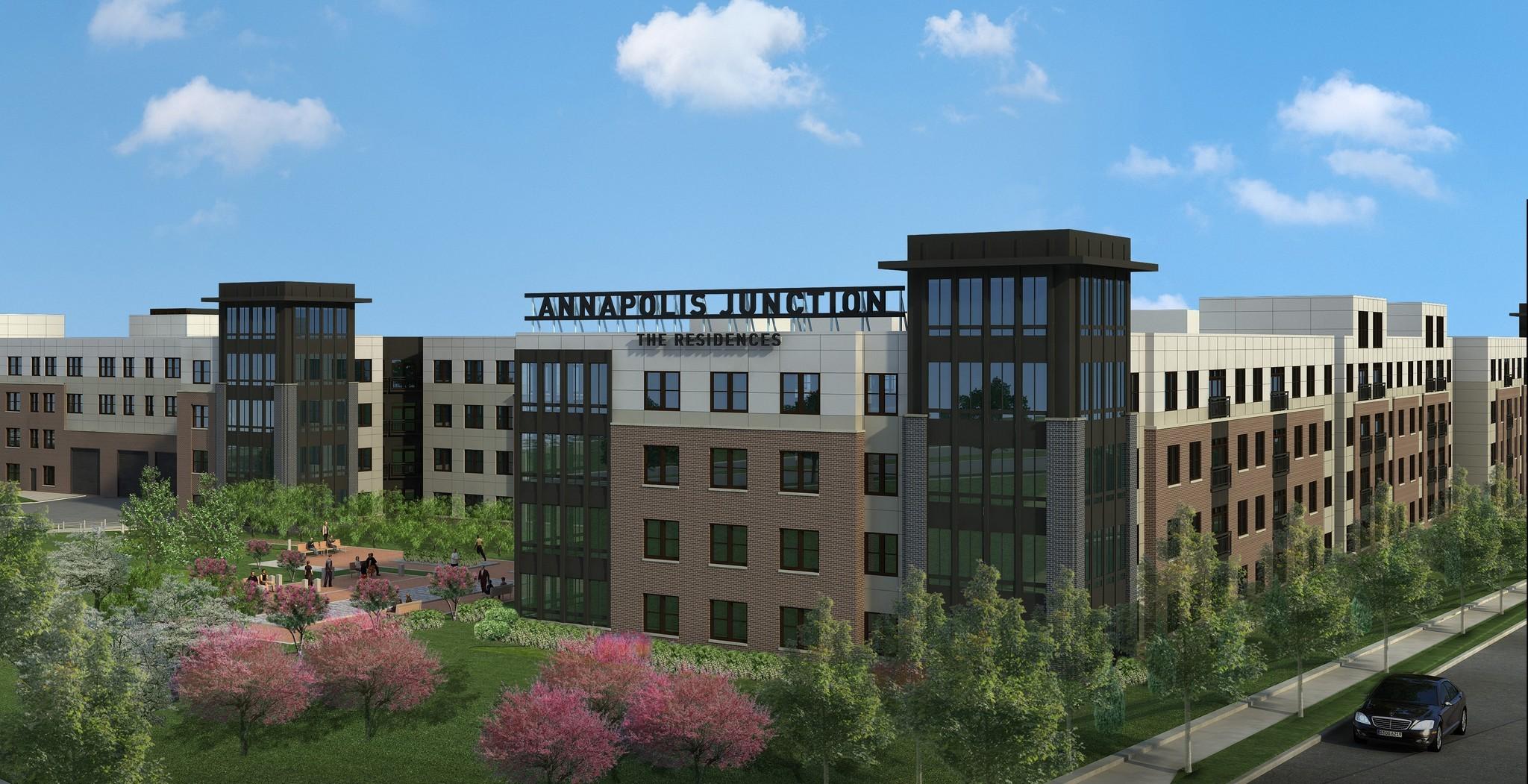 armada hoffler takes stake in annapolis junction