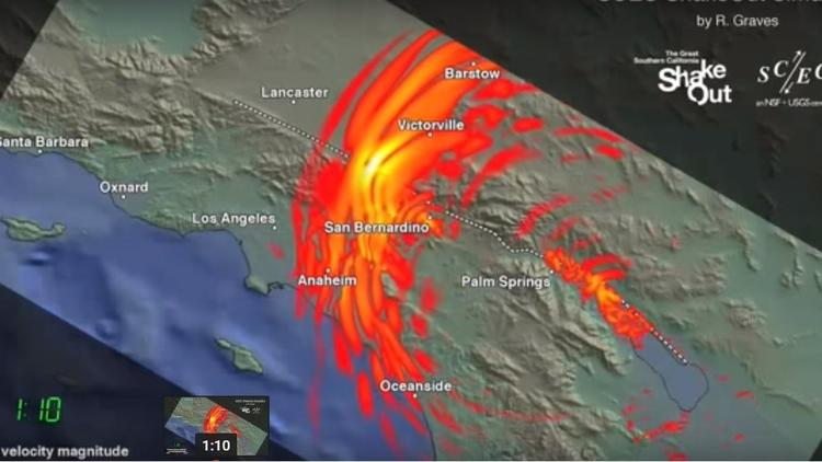 ShakeOut earthquake scenario