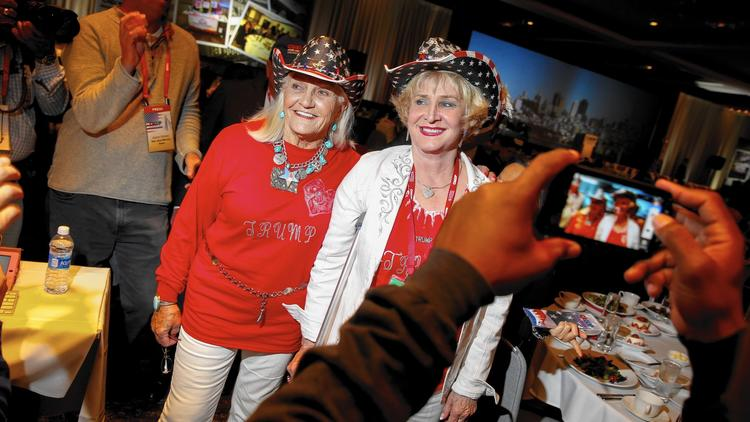 Republicans at the party's California convention in Burlingame last week. (Jay L. Clendenin / Los Angeles Times)