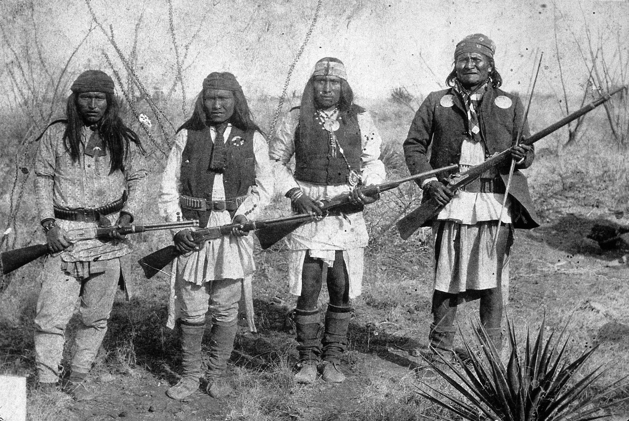 """an analysis of the apache wars on the genocide of the chiricahua indian tribe Interchangeably meaning """"traitor,"""" """"rebel,"""" or """"outlaw"""" from 1860–1886, whites  labeled chiricahua apaches who fled arizona and new mexico reservations and  participated in  have recounted the apache wars, the broncho period, and the   kill the indians as the tigers and the wolves are killed""""11."""