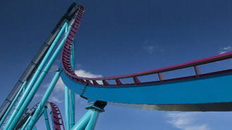 See SeaWorld's Mako roller coaster put through its paces
