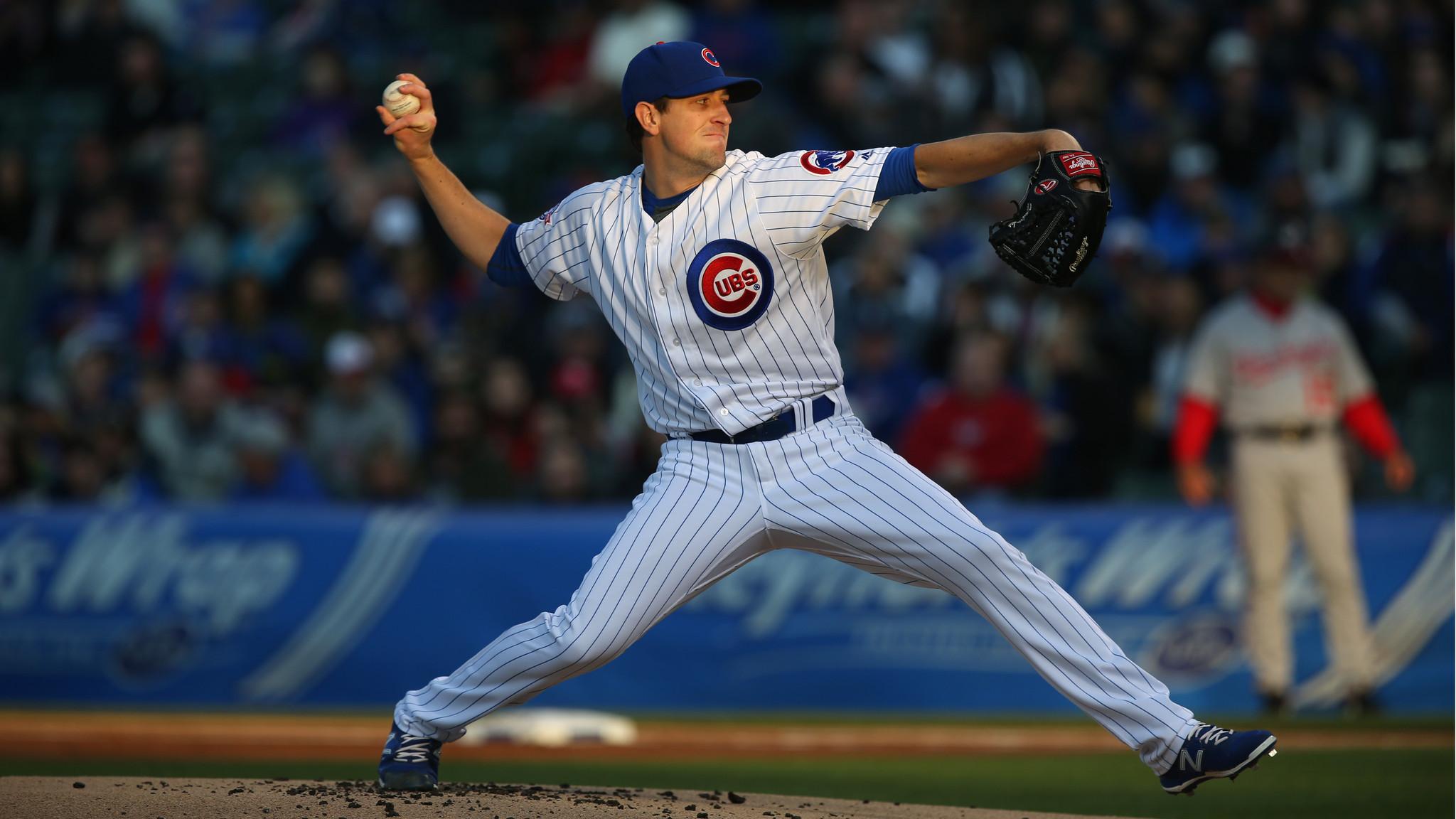 Kyle Hendricks More Than Cubs Good Luck Charm Baseball Chicago