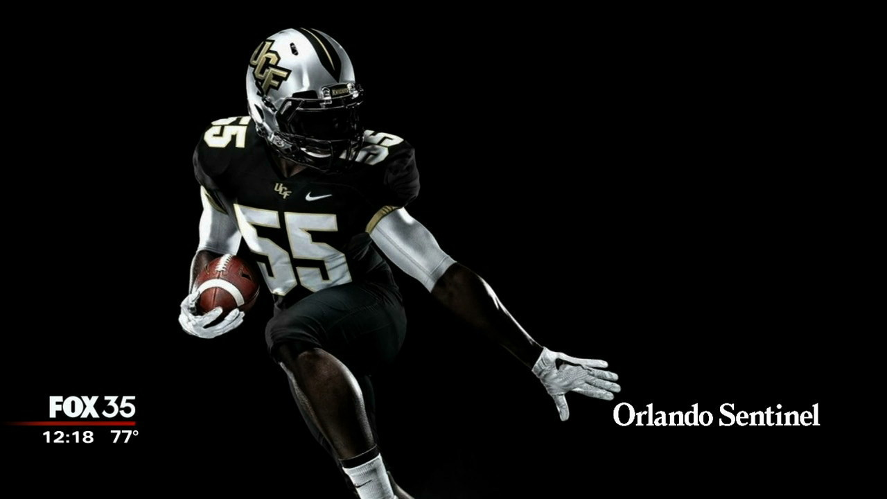 UCF's football team gets new Nike uniforms - Orlando News Now - Orlando  Sentinel