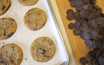 Elia's chocolate chip cookie recipe