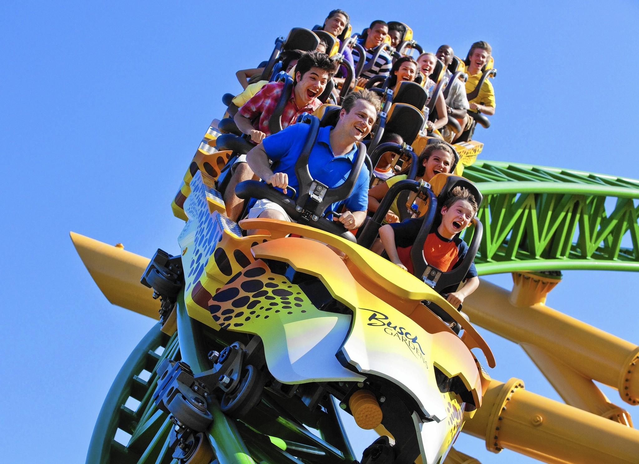 Wildlife thrill rides come together at Busch Gardens Orlando