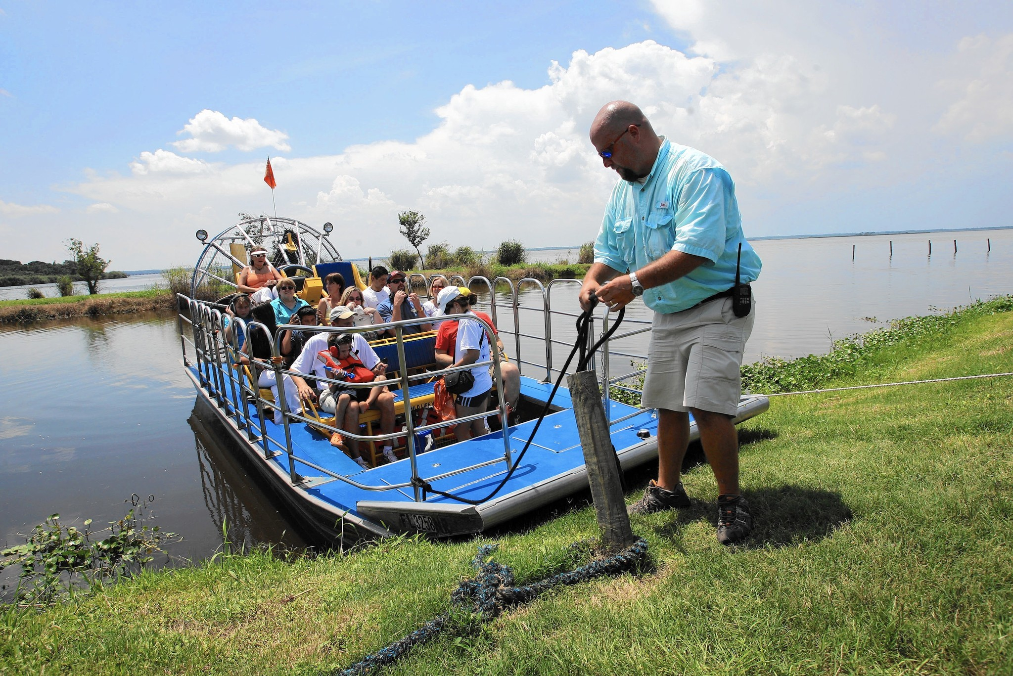 Medium image of airboats the star at seminole u0027s black hammock adventures   orlando sentinel