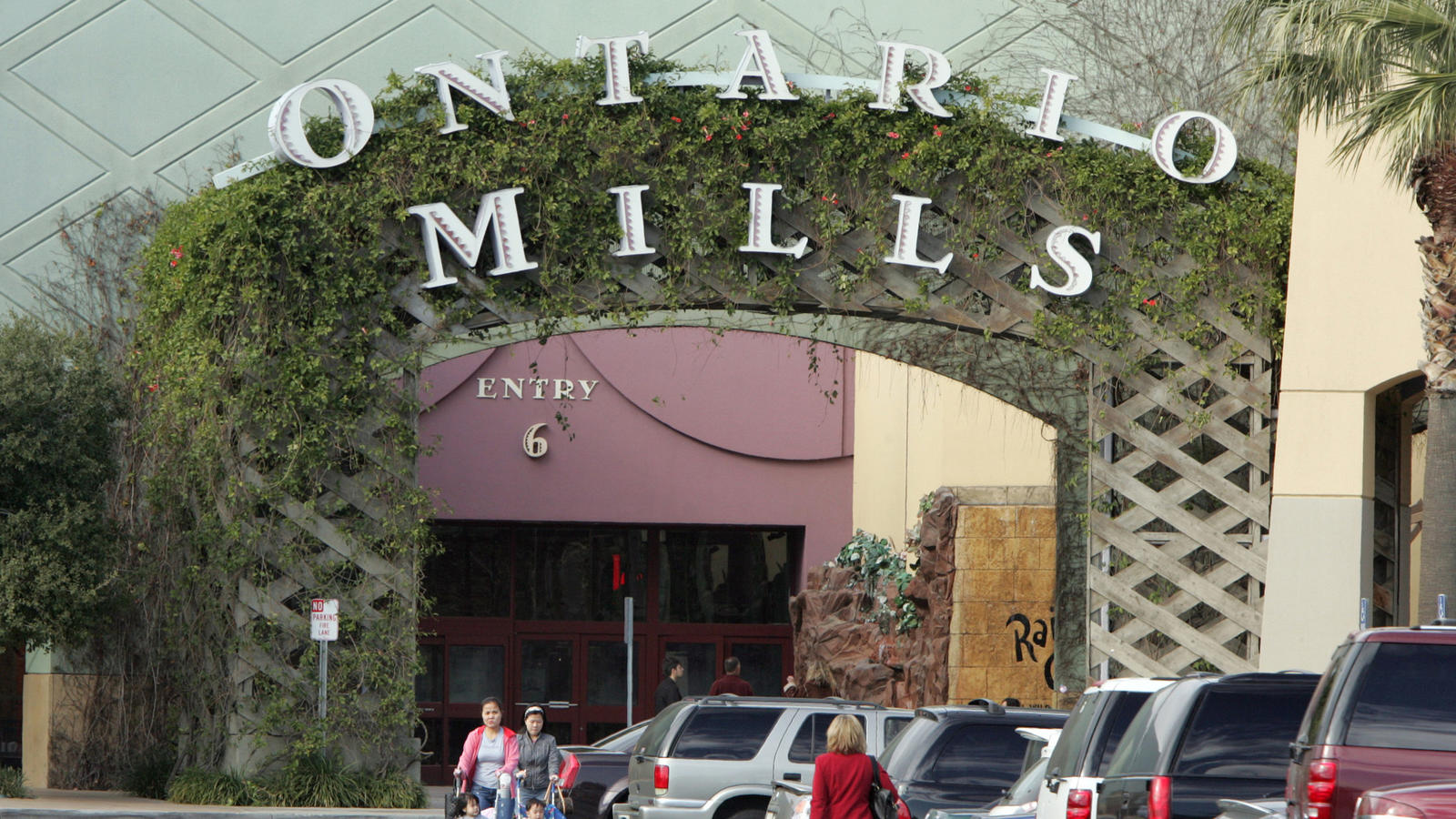 A commercial property in San Bernardino County that could face higher property taxes under a proposed ballot measure (Glenn Koenig / Los Angeles Times)