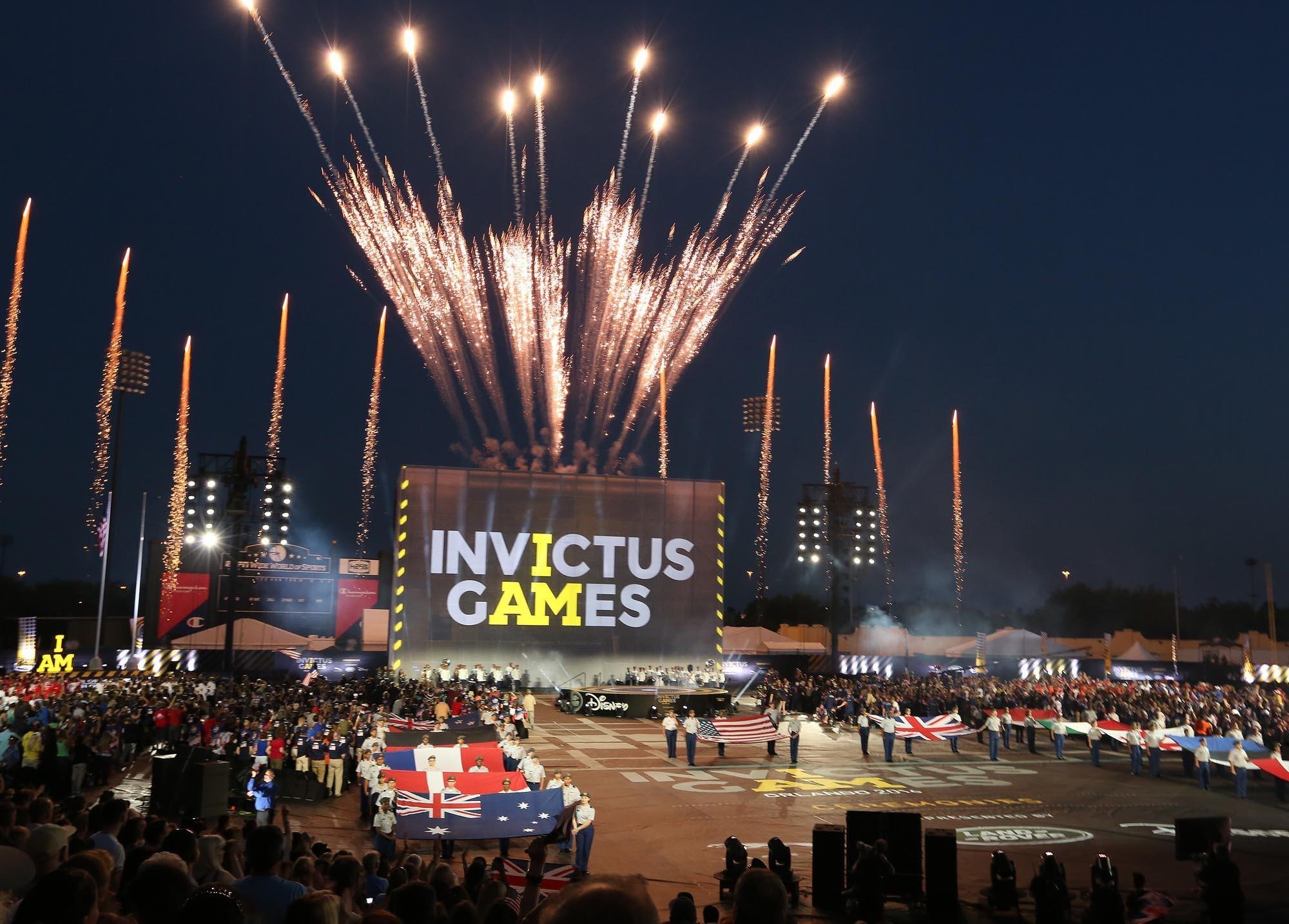 invictus games opening ceremony - photo #22