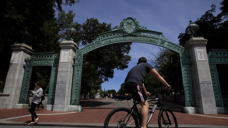 Sather Gate on the UC Berkeley campus (Francine Orr / Los Angeles Times)