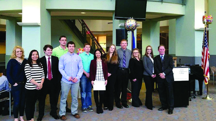 Tunxis Business Students Inducted Into Kappa Beta Delta National Honor Society