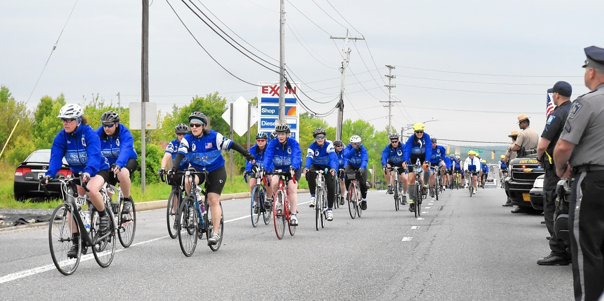 Police unity tour riders honor fallen harford county for Police tours