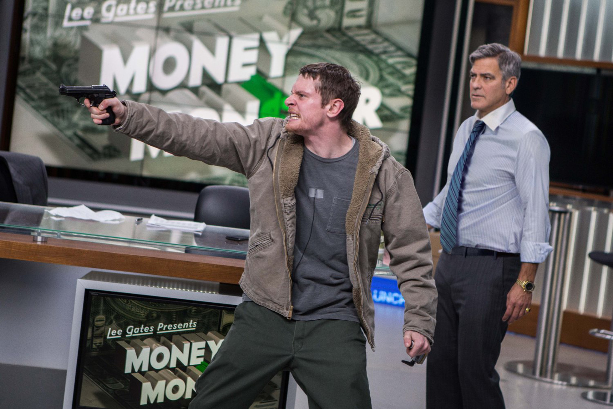 'Money Monster' review: Jodie Foster's hostage thriller struggles to maintain momentum, credibility