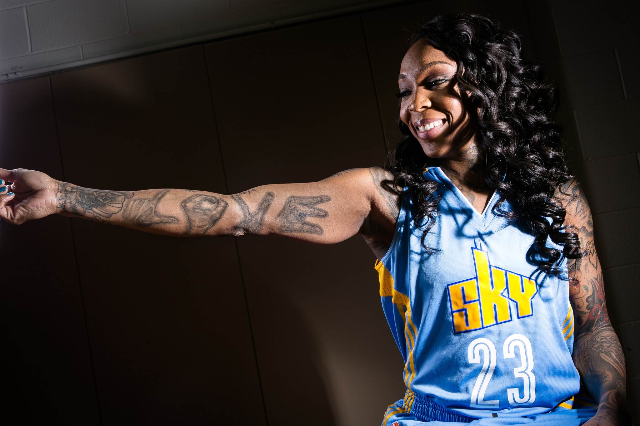 10 Chicago Sky players dish the details on their tattoos ...