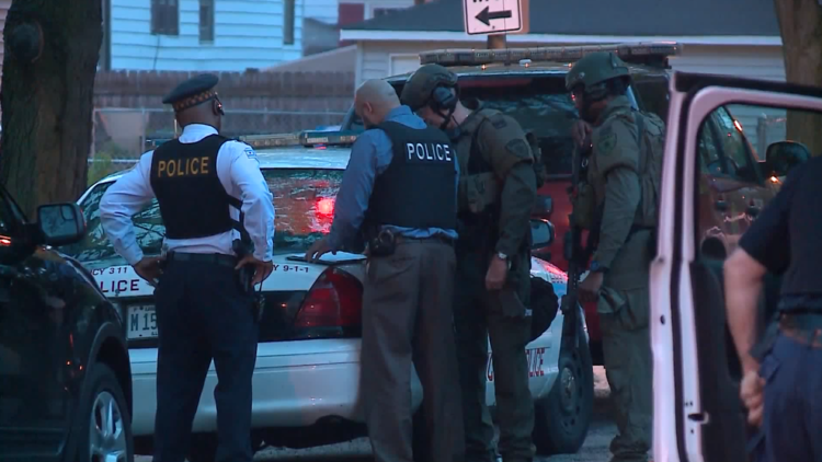 Autopsy - Triple Homicide Suspect, SWAT teams surround Far South Side home where gunman barricaded