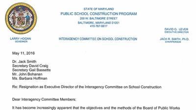 PDF: David Lever resignation letter