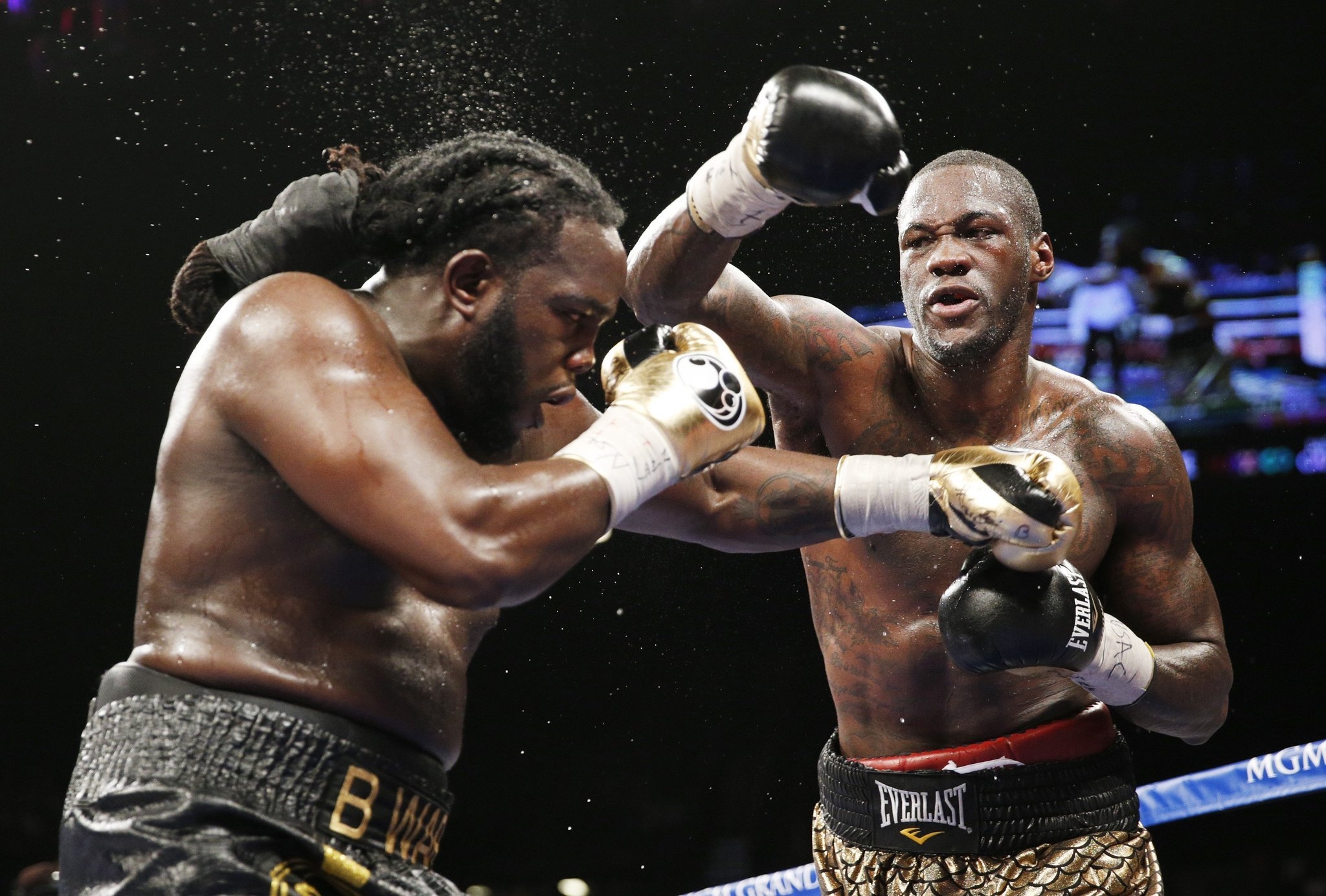 Deontay Wilder daring to go to Russia to defend heavyweight belt - LA Times